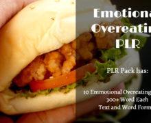 Emotional Overeating PLR