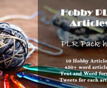 High-Quality Hobby Pre-Written Content With PLR Rights