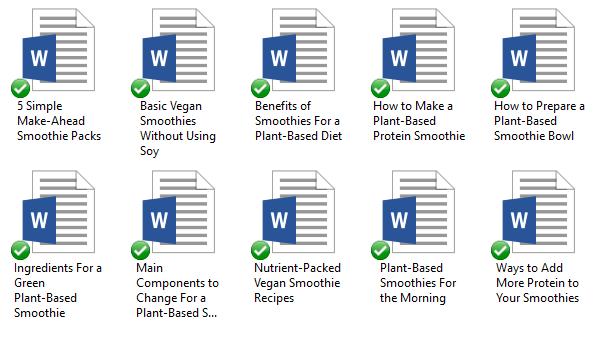 Niche PLR Starter Packs: Pre-Written Niche ContentPlant