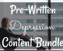 Depression Content Bundle
