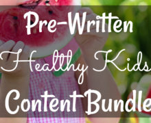 Healthy Kids Content Bundle