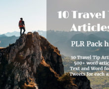 High-Quality Travel Safety Tips Pre-Written Content With PLR Rights