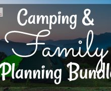 Camping and Family Planning Content Bundle