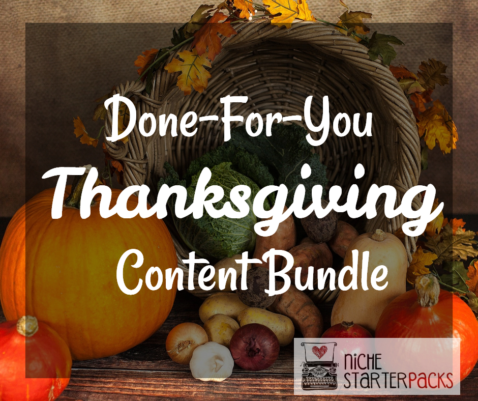 ThanksgivingPLR