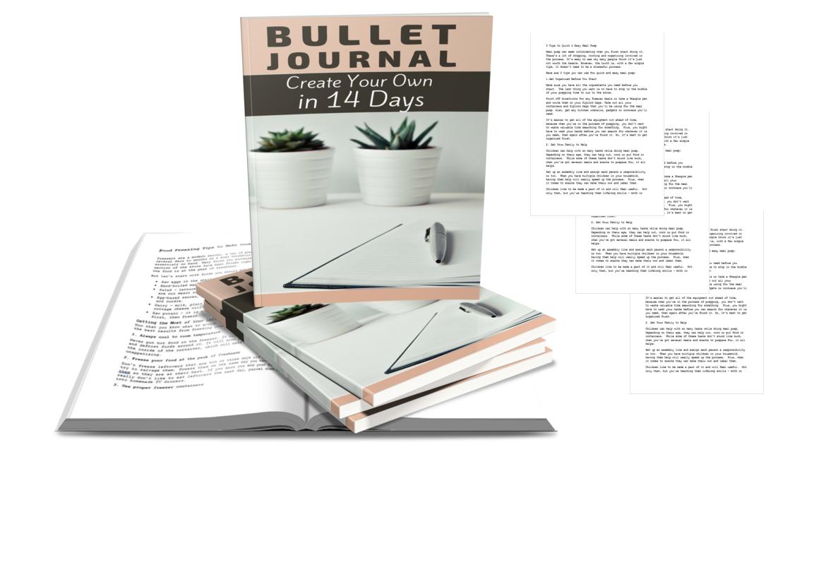 BulletJournalBook