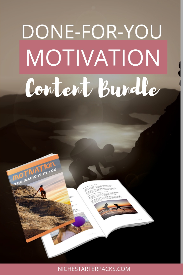 Done For You Motivation Content Pack