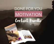 DFY Motivation PLR Pack