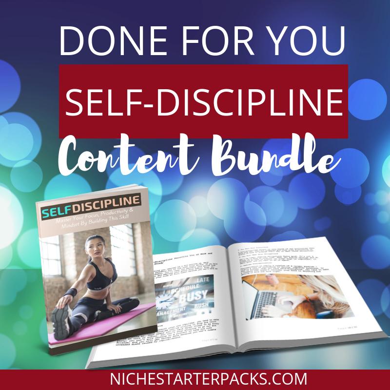 Self-DisciplinePLRFEATURED