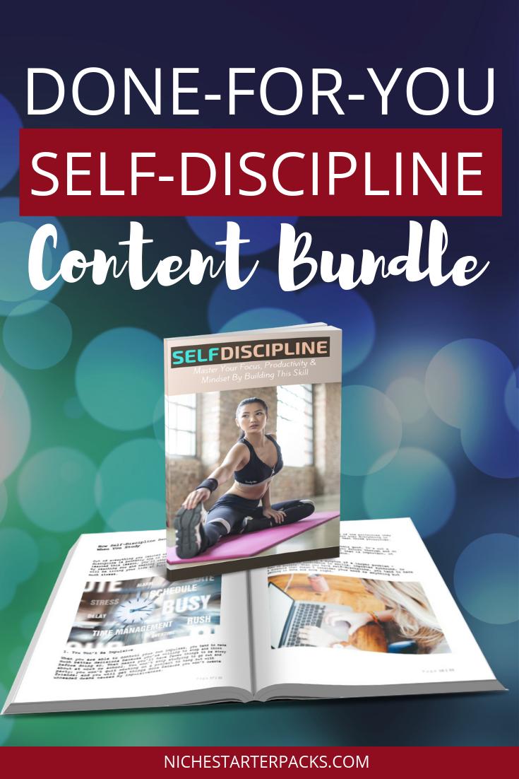 Self-DisciplinePLRPIN