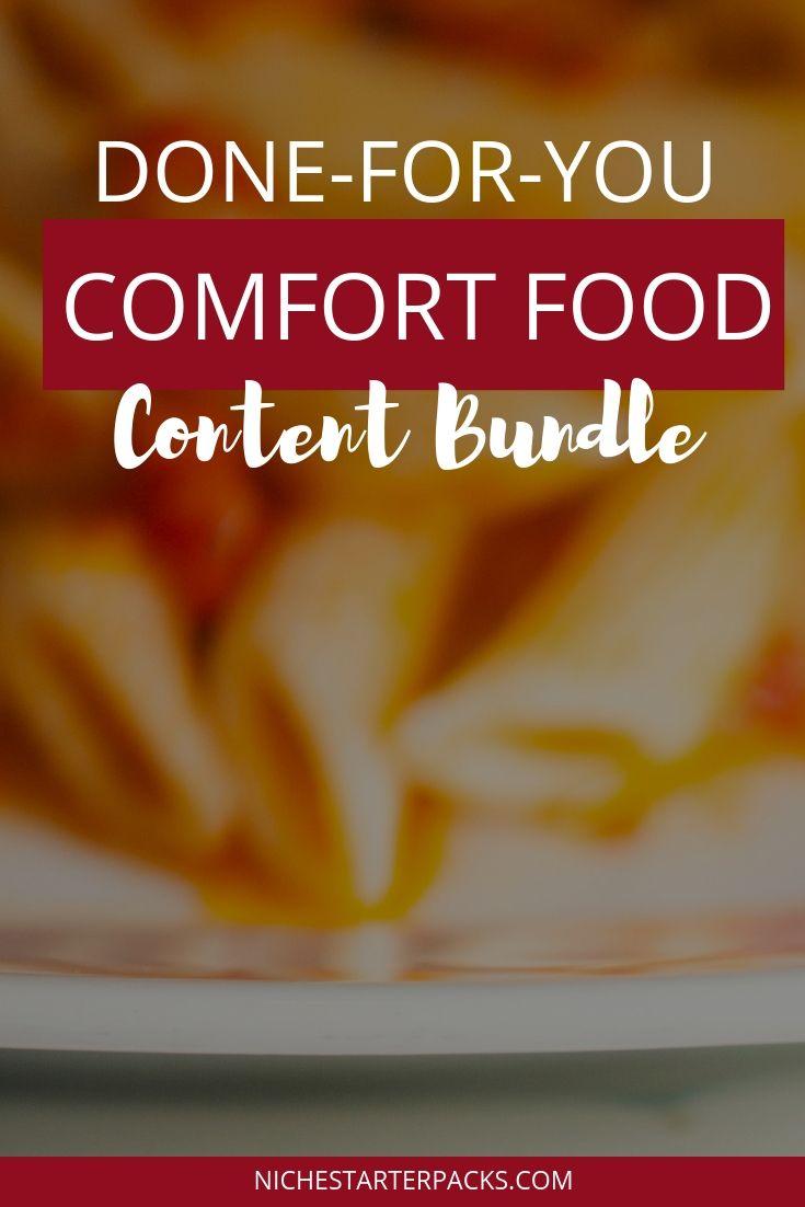 ComfortFoodPLR-PIn