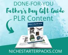 FathersDayGiftGuidePLR-BlogPost