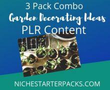 GardenDecoratingIdeasPLR-BlogPost