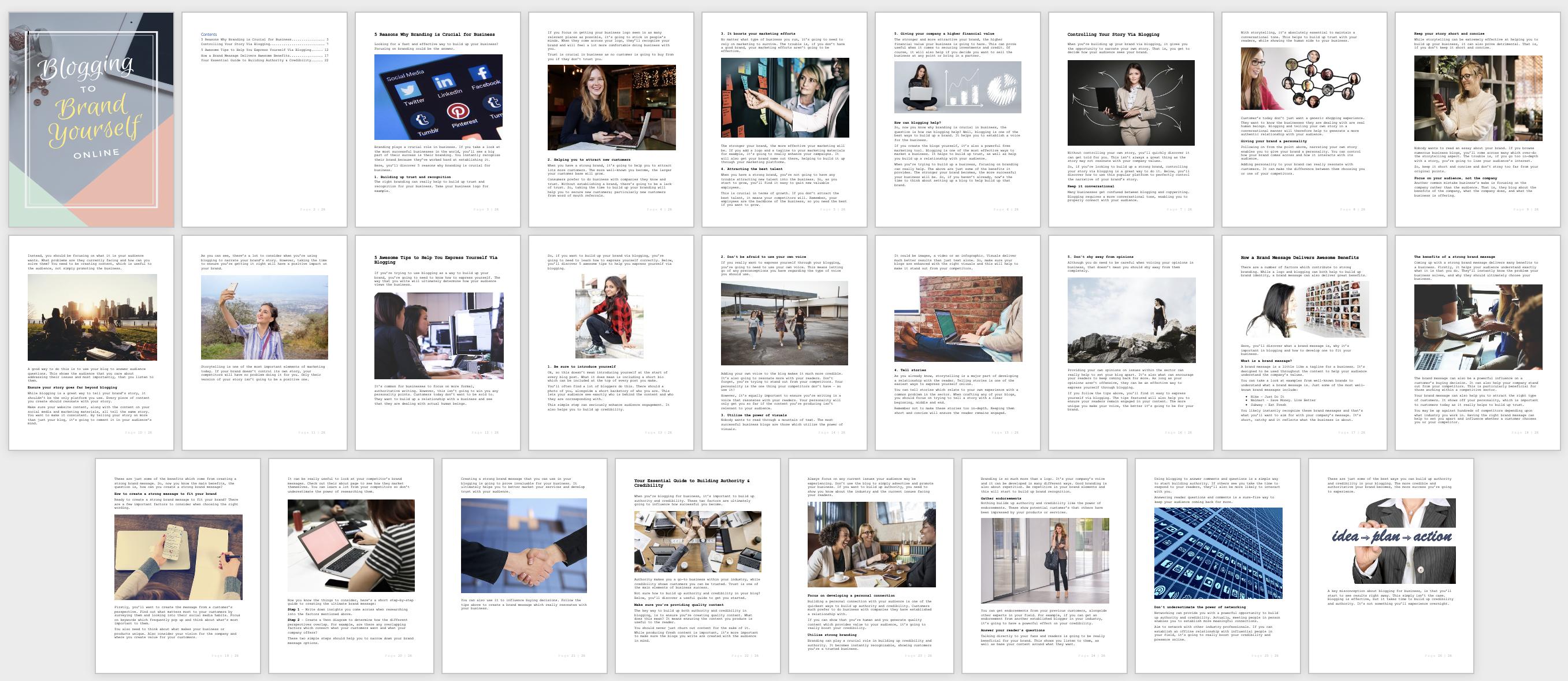 BloggingToBrandYourself-Report-Content