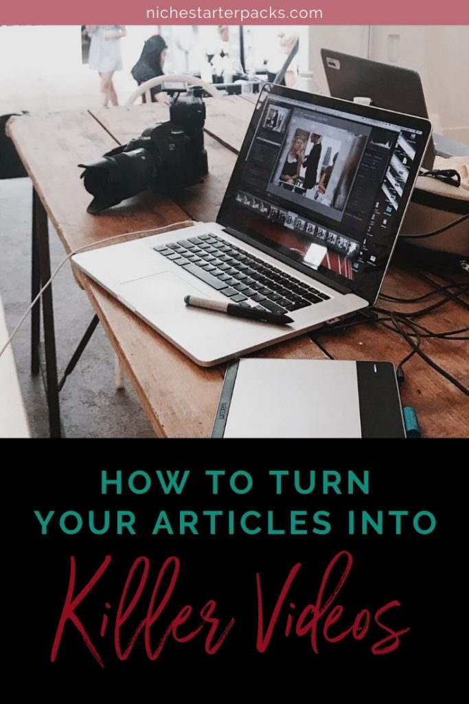 Turn Your Articles into Killer-PIN