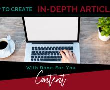CreateIn-DepthArticlesWithDFY Content-BLOGPOST