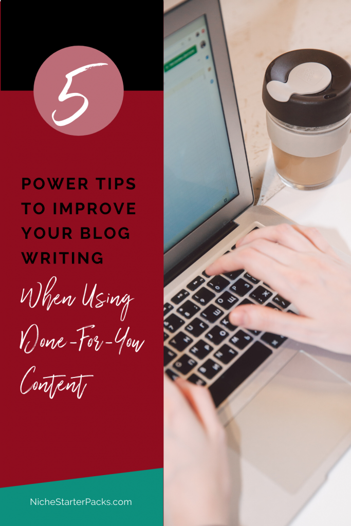 Power Tips to Improve Blog Post Writing
