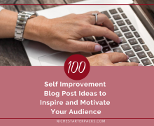 BlogPostIdeasSelfImprovementFeatured