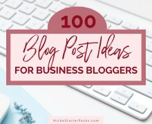 100BusinessBlogPostIdeas-FEATUED
