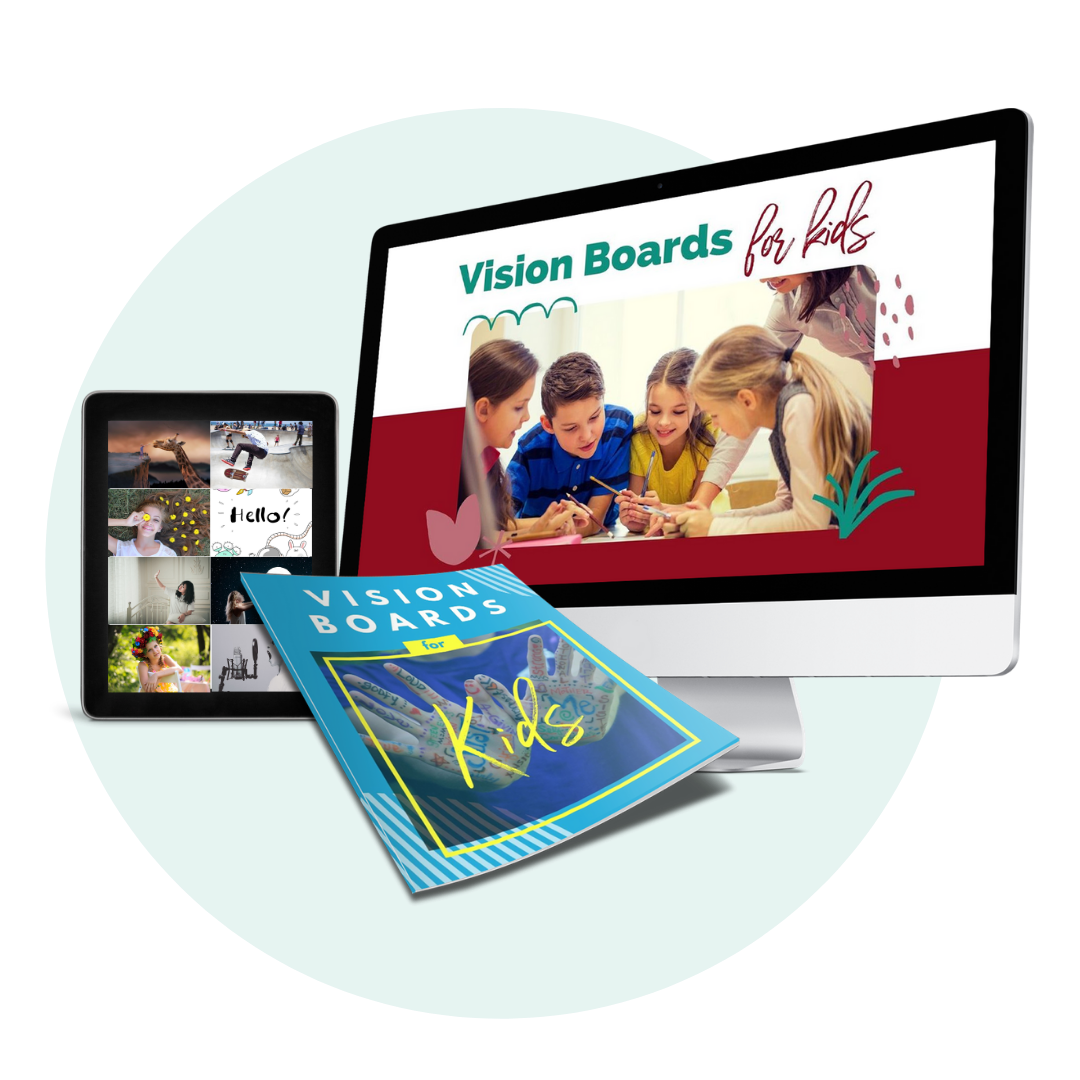Done-For-You Vision Board for Kids PLR - Mockup