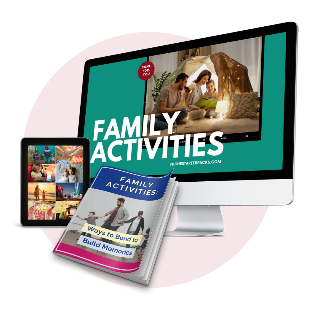 Done-For-You Family Activities PLR Bundle Mockup