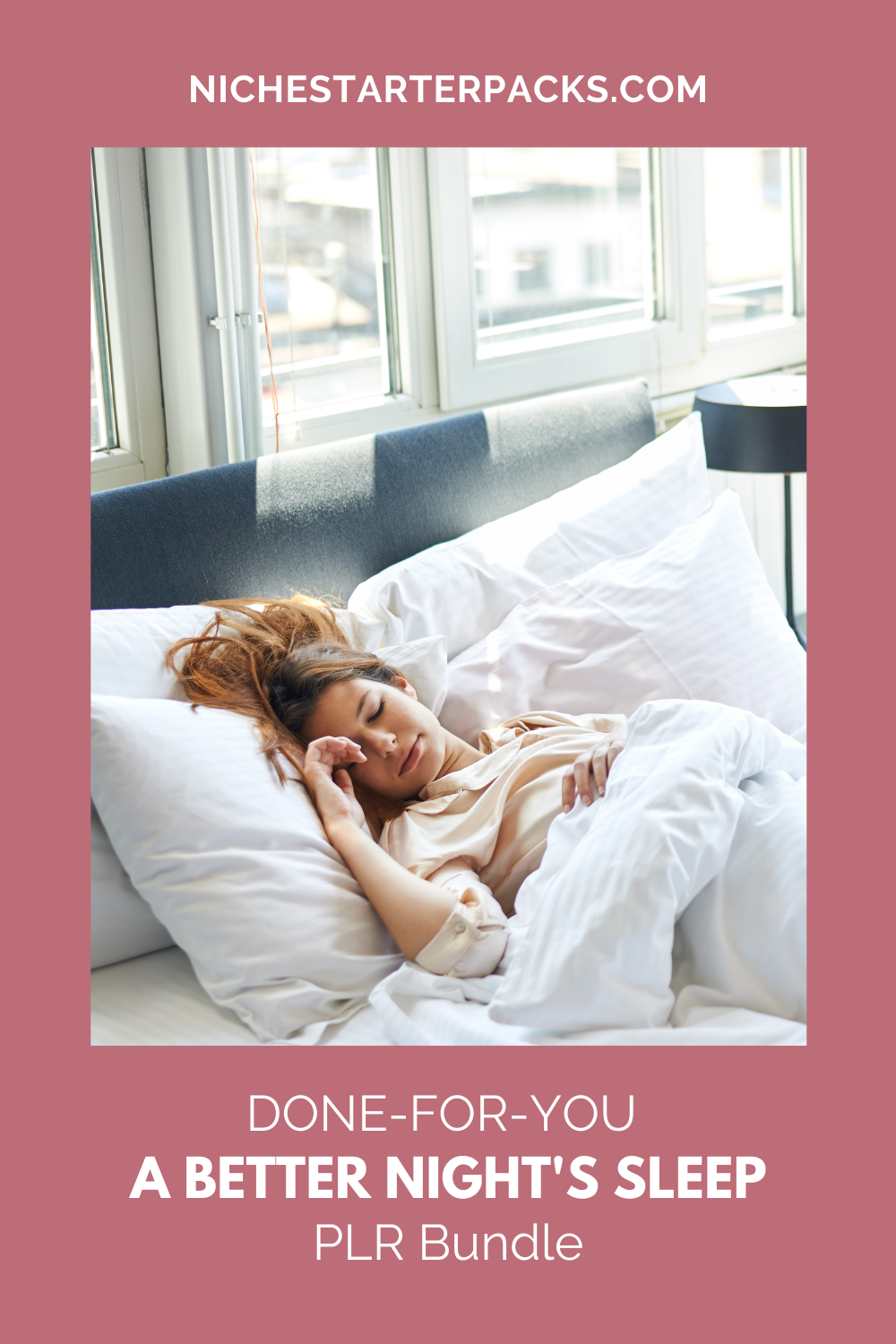 Done-for-you PLR A Better Night's Sleep - PIN