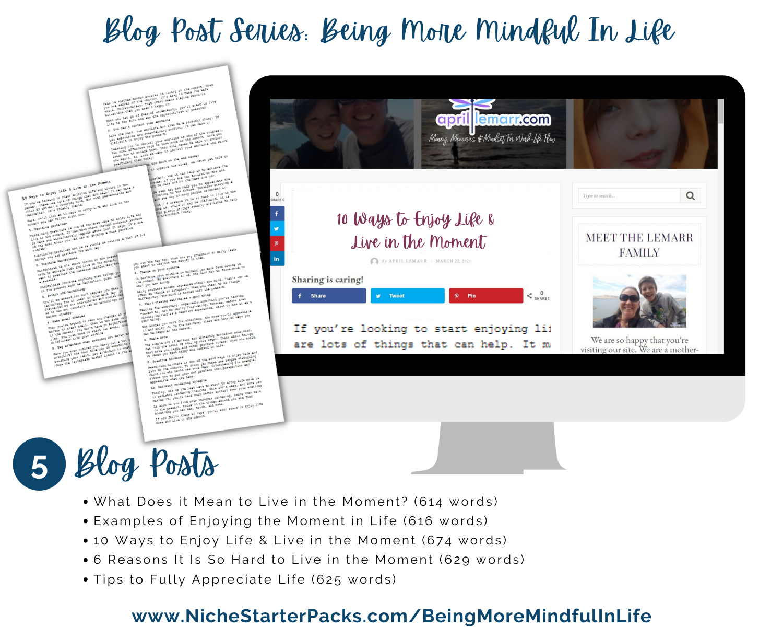 BeingMoreMindfulInLife-Blog Posts